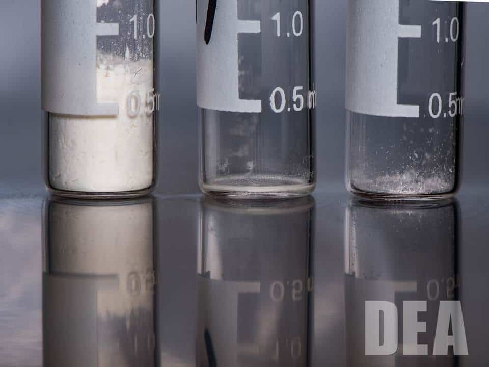 Heroin Carfentanil Fentanyl Lethal Dose Close Up