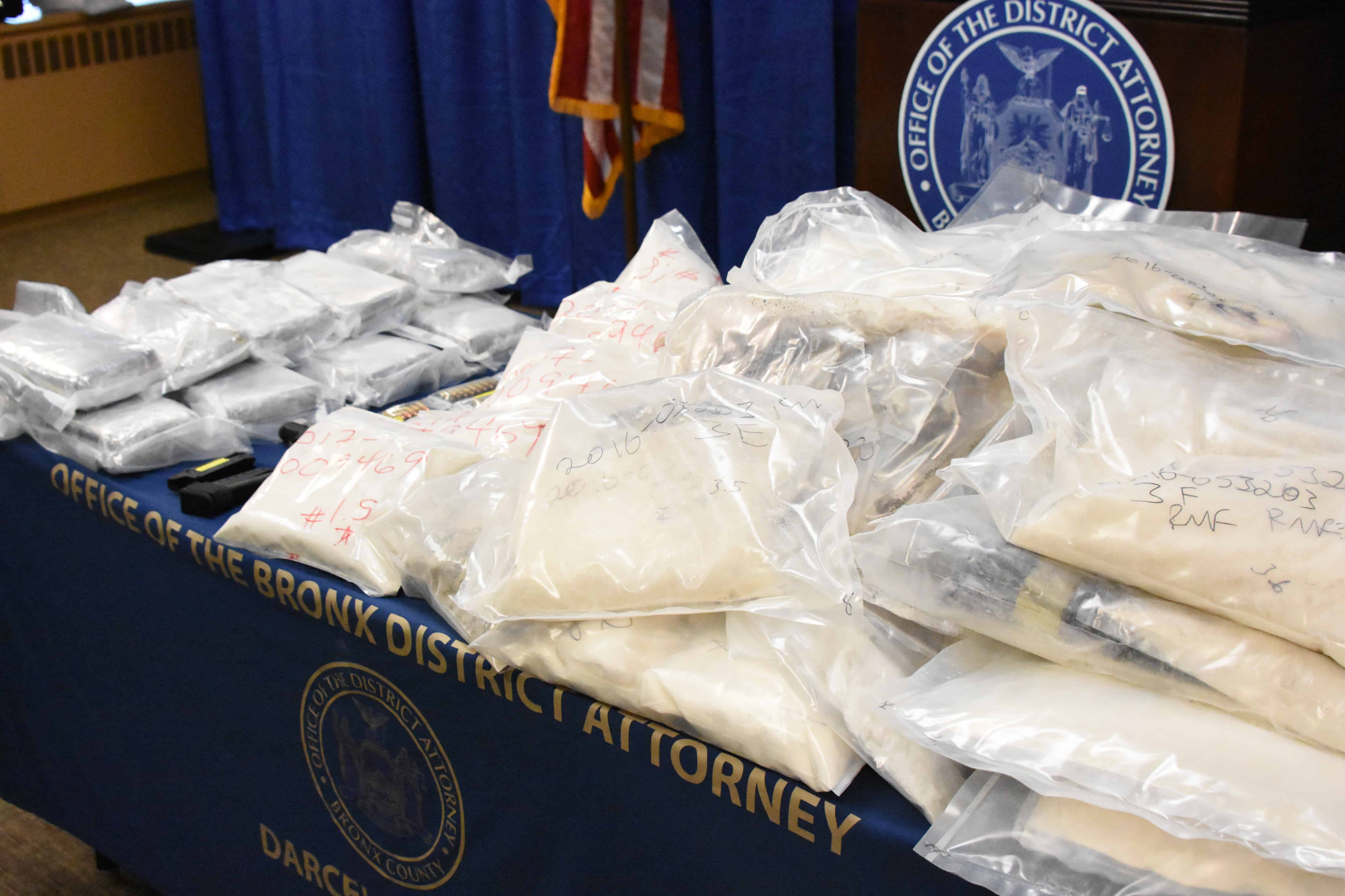 fentanyl and heroin seized by NYFD