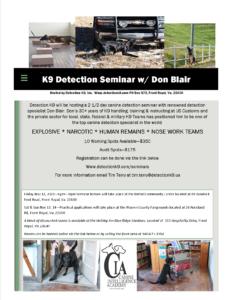 Don Blair Nov 2021 Seminar